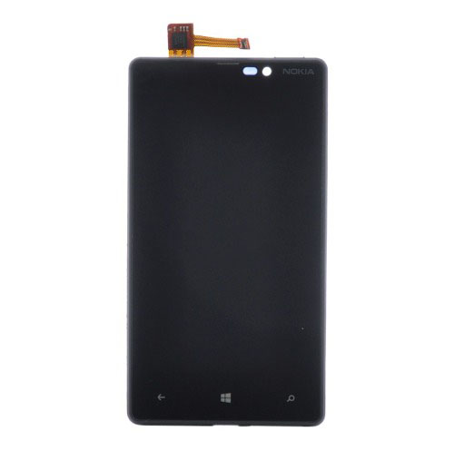 Frontal Nokia Lumia N820 Preto com Aro