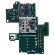 Placa Slot Sim Card Chip Sony M C1904 Single