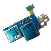 Flex Conector Sim Card Express i8730L Gt-I8730L