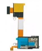 Flex Slot Sim Card Cartao Memoria Xperia M2 / M2 Aqua D2303 D2305 D23061 Chip