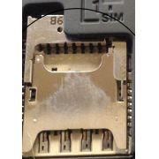 Slot Sim Card Com Micro Sd Asus Zenfone Laser Ze550kl / Zenfone Go Zc500