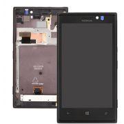Frontal Nokia Lumia 925 N925 Preto com Aro