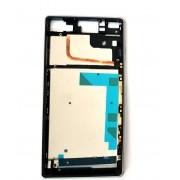 Aro Lateral Sony Xperia Z3 Dual D6633 com Tampas Usb Branco