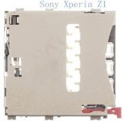 Slot Conector Sim Card Chip Sim Sony Xperia Z1 C6943 C6902