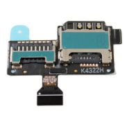 Flex Conector Sim Card S4 Mini I9192 I9195 I9190-AD8
