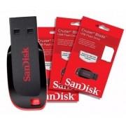Pen Drive Cruzer Blade 32Gb Usb Flash Drive SanDisk