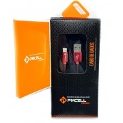Cabo Usb PMCELL Cromo-620 iPhone 5 6 7 2A