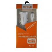 Carregador Veicular Para iPhone Kd-501 Branco