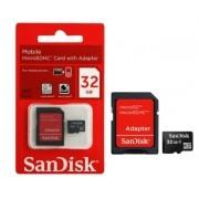 Cartão Micro SD com Adaptador 32GB Sandisk