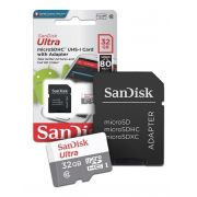 Cartão Micro SD Ultra Sandisk 32GB Classe 10