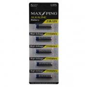 Cartela De Bateria Alkaline Com 5 Unidades