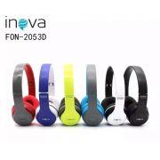 Fone Bluetooth INOVA 2053D - Escolha Cor
