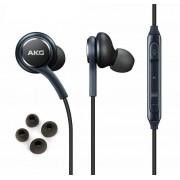 Fone De Ouvido Compatível S8/S9/S10/S10 Plus P2 Cinza