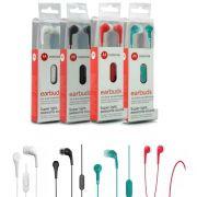 Fone de Ouvido Earbuds 2 com Microfone - Escolha Cor
