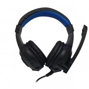 Fone HeadSet Gamer USB / P2 Preto Com Led KD-768