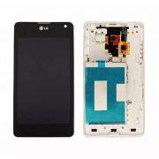 Frontal LG Optimus G E971 E973 E975 E977 Branco om Aro