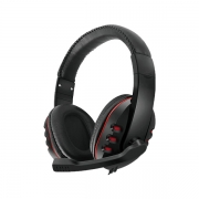 Headset Gamer P2 Com Microfone HREBOS Hs-801 Preto