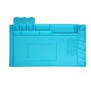 Manta Magnética Anti-Estática De Silicone Azul - Escolha o Tamanho