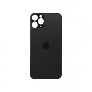 Tampa Traseira Acrílico iPhone 11 Pro A2161, A2220, A2218 Cinza Sem Aro
