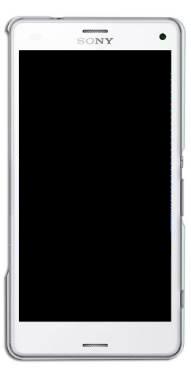 Display Frontal Sony Xperia Z3 Compact D5833 Branco Com Aro Original Retirado