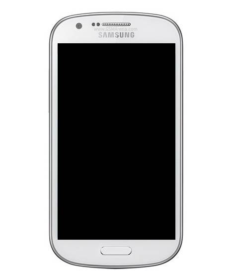 Frontal Samsung I8730 Express Branco