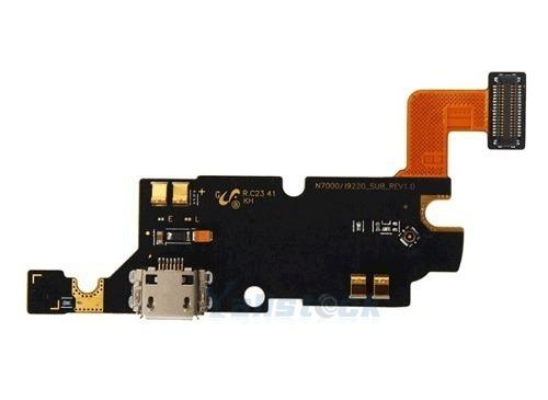 Flex Placa Conector Carga Usb Samsung Note N7000 Gt-N7000