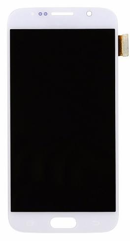Frontal Samsung S6 Sm-g920 G920F Branco