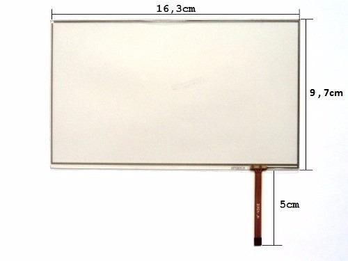 Touch Tablet Foston Fs m785 Fs m786 7 Polegadas Preto