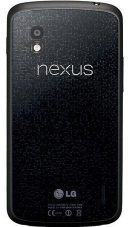 Tampa Traseira LG Nexus 4 E960 Preto Com Aro