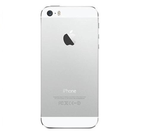 Carcaça Completa iPhone 5S com Flex e Componentes Branco
