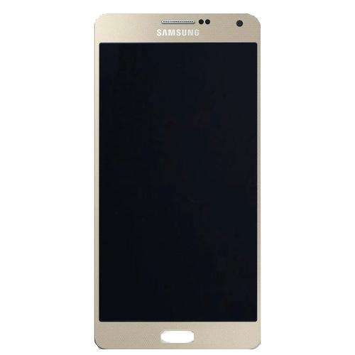 Frontal Samsung A7 A700 Sm-A700 Dourado