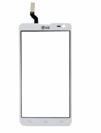 Touch LG Optimus L9 II  Versão 2 D605 D 605 Branco - 1 Linha