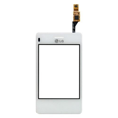 Touch Com Aro LG T375 Branco