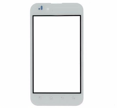 Touch LG Optimus P970 Branco 1 Linha
