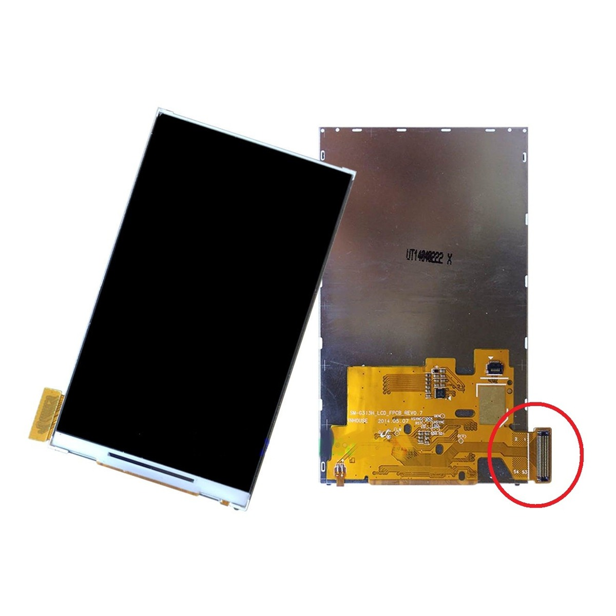 Lcd Display Samsung Sm-G313 G313h Flex Largo - 1 Linha