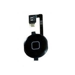 Botão Home Flex Apple Iphone 4 Preto