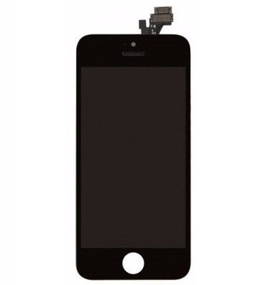 Frontal Apple Iphone 5 5g Preto - 1 Linha