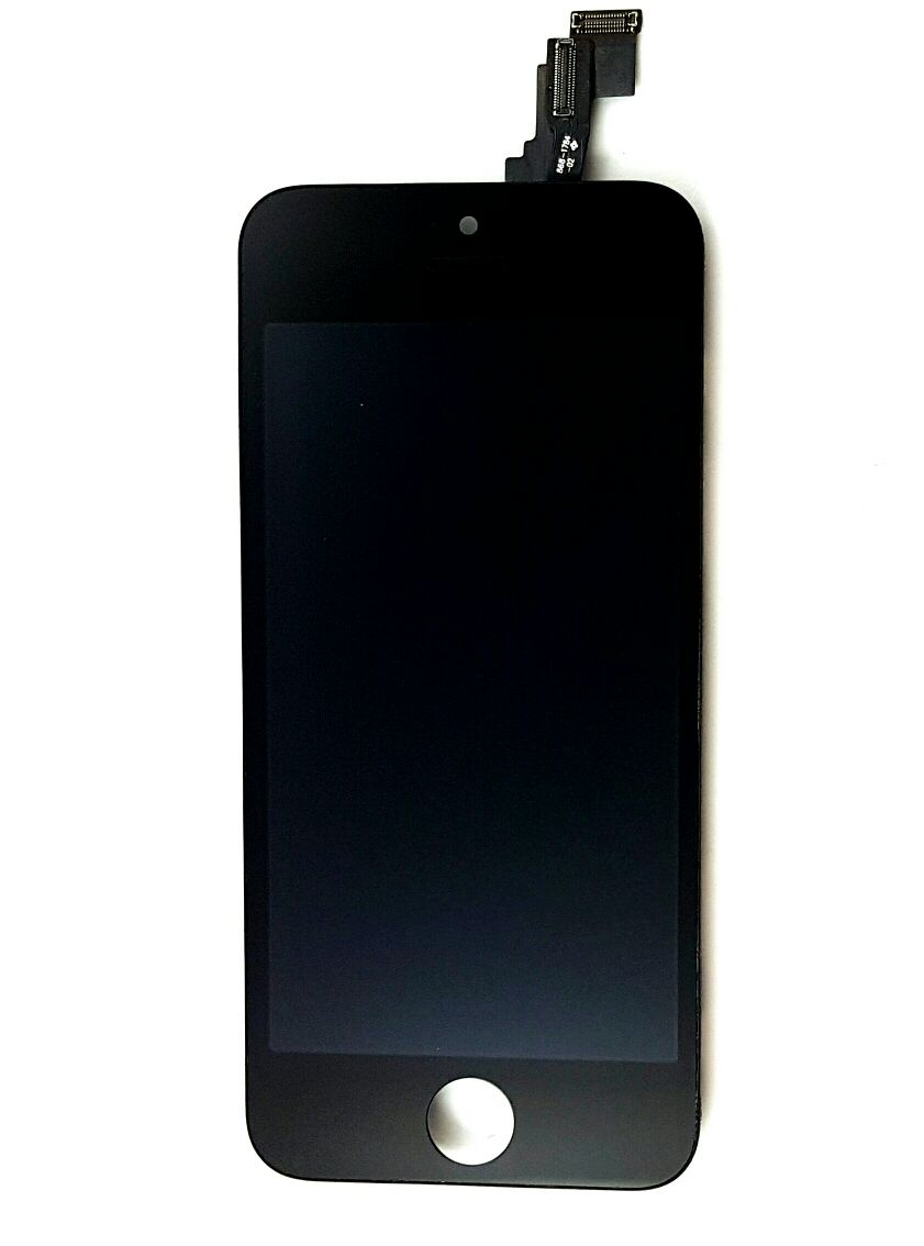 Frontal Apple Iphone 5c Preto - 1 Linha