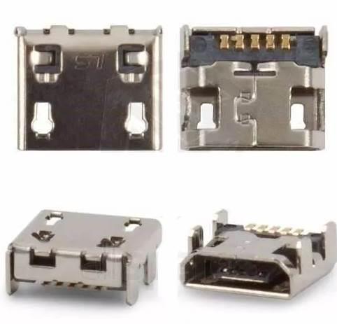 Conector de Carga Lg E470 E467 E445 Padrao V8 Universal