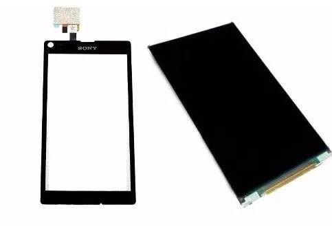 Display Frontal Sony Xperia L C2104 Preto