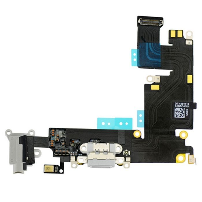 Flex Conector Carga iPhone 6 Plus 5.5 Branco