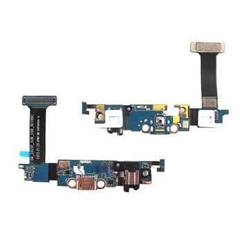 Flex Conector de Carga Samsung S6 Edge G925s G925i com Jack P2 e Microfone