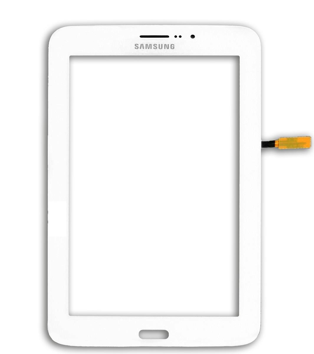 Touch Samsung Tab 3 Lite 3g Sm-T111 Branco - Com Furo do Alto Falante