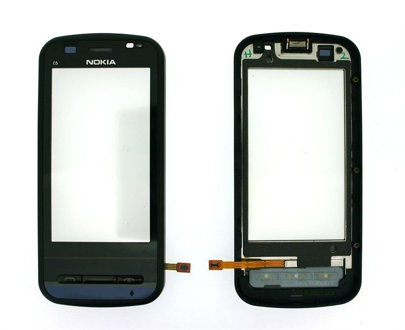 Touch Nokia C6 00 Preto 1 Linha AAA