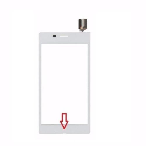 Touch Sony Xperia M2 Aqua D2403 D2406 Branco 1 Linha