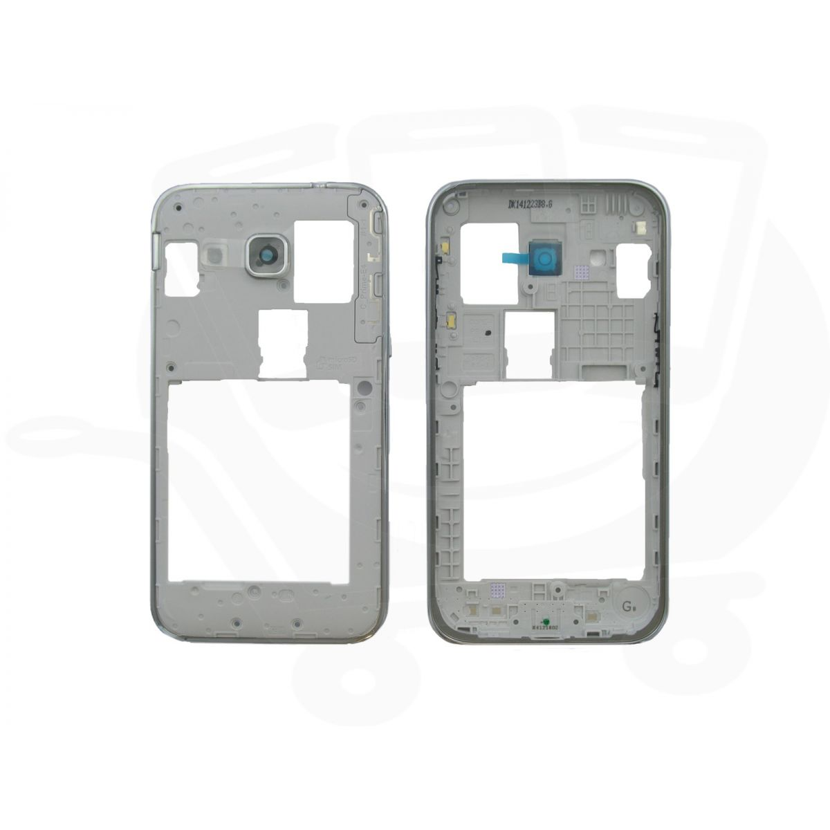 Aro Carcaca Frame Lateral Chassi Samsung Sm-G360 Win 2 Duos Branco