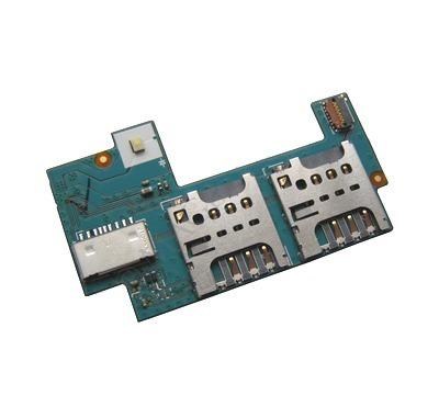 Placa Sim Card Micro SD Sony Xperia C C2304 Dual Sim