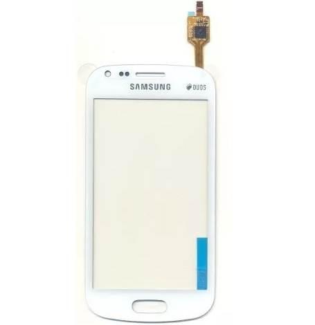 Touch Samsung Trend Plus S7580 Branco 1 Linha