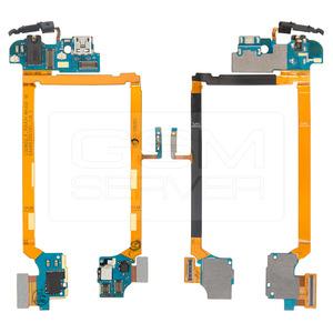 Flex Conector Carga LG Optimus G2 D802 D805 com P2 Fone e Microfone