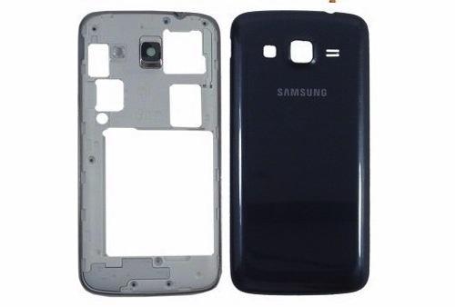 Carcaça Completa Samsung S3 Duos GT-8262 Azul - 1ª Linha
